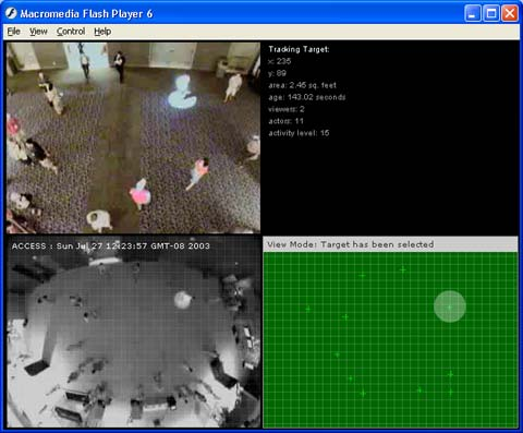 SIGGRAPH 2003 | Screen Shot Web Interface